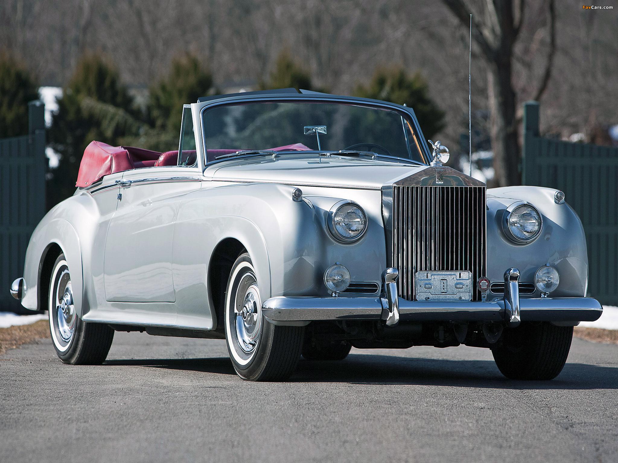 Rolls-Royce Silver Cloud Drophead Coupe (II) 1959–62 wallpapers (2048 x 1536)