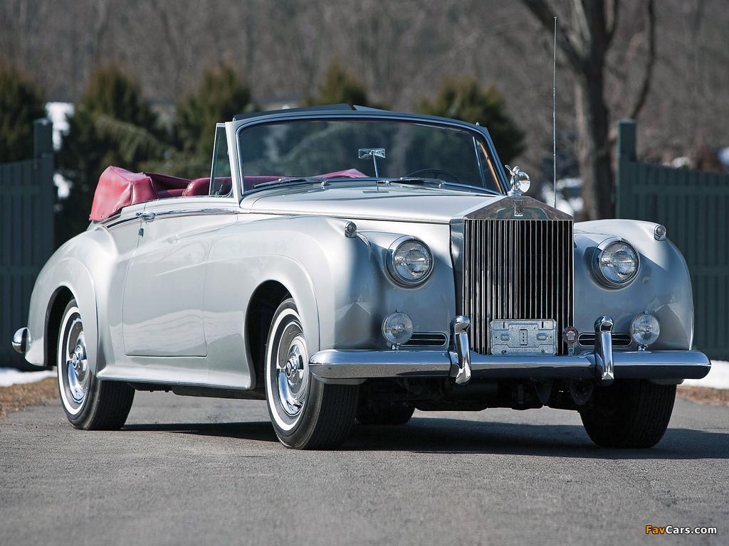 Rolls-Royce Silver Cloud Drophead Coupe (II) 1959–62 wallpapers (1024 x 768)