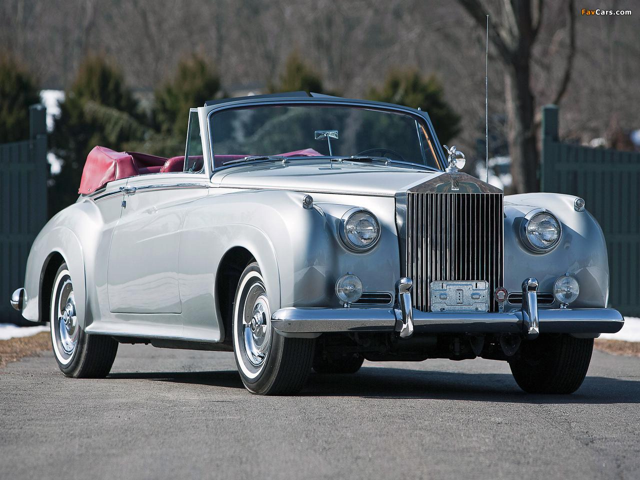 Rolls-Royce Silver Cloud Drophead Coupe (II) 1959–62 wallpapers (1280 x 960)