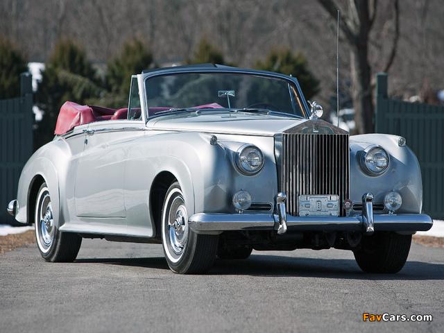 Rolls-Royce Silver Cloud Drophead Coupe (II) 1959–62 wallpapers (640 x 480)