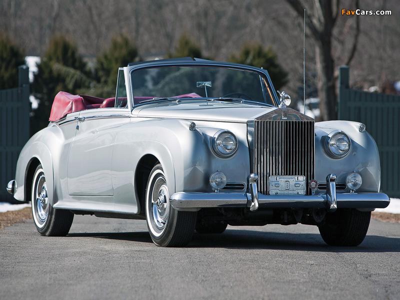 Rolls-Royce Silver Cloud Drophead Coupe (II) 1959–62 wallpapers (800 x 600)