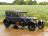 Rolls-Royce Silver Ghost 40/50 Barrel-sided Tourer by Park Ward 1922 wallpapers