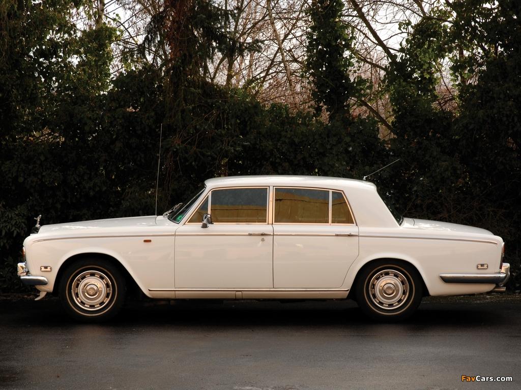 Rolls-Royce Silver Shadow 1965–77 wallpapers (1024 x 768)