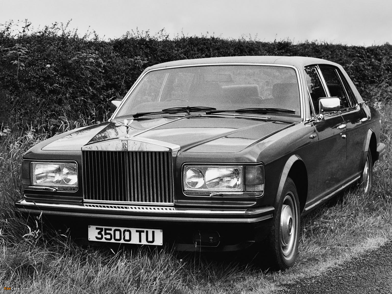 Rolls-Royce Silver Spirit 1980–89 wallpapers (1600 x 1200)