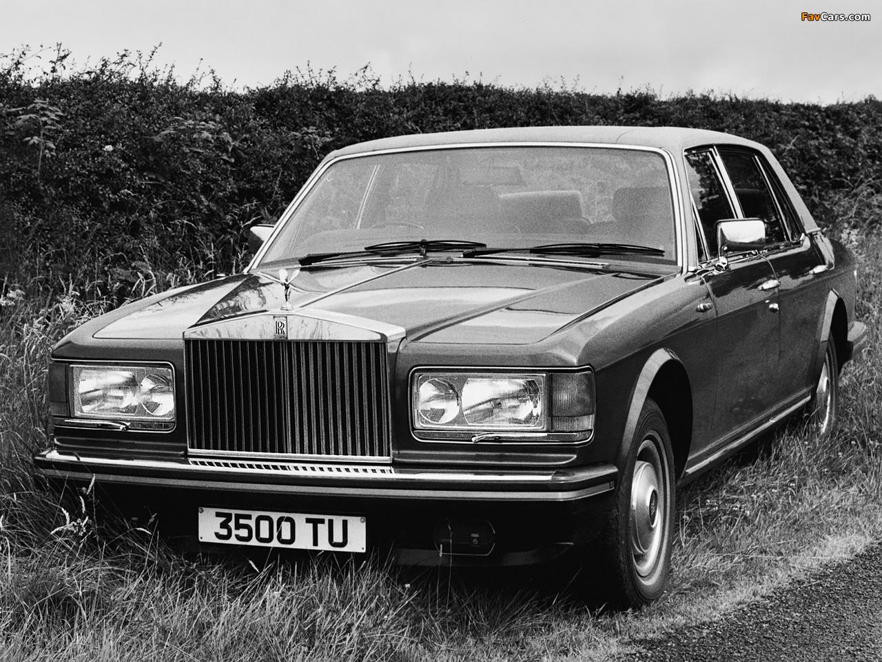 Rolls-Royce Silver Spirit 1980–89 wallpapers (1280 x 960)