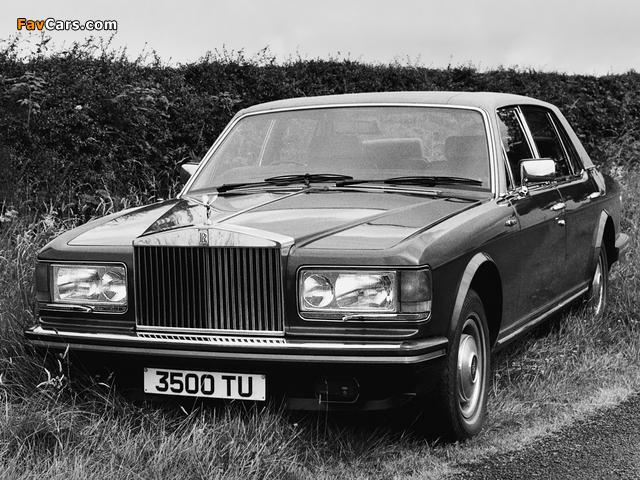 Rolls-Royce Silver Spirit 1980–89 wallpapers (640 x 480)