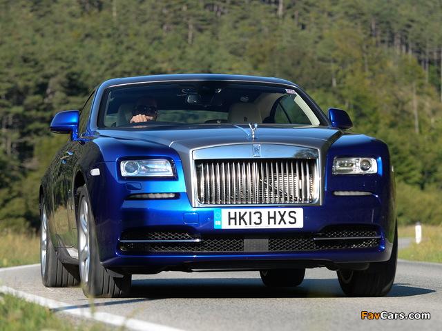 Photos of Rolls-Royce Wraith UK-spec 2013 (640 x 480)
