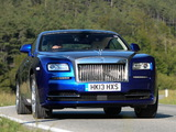 Photos of Rolls-Royce Wraith UK-spec 2013