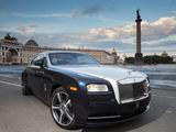 Rolls-Royce Wraith US-spec 2013 pictures