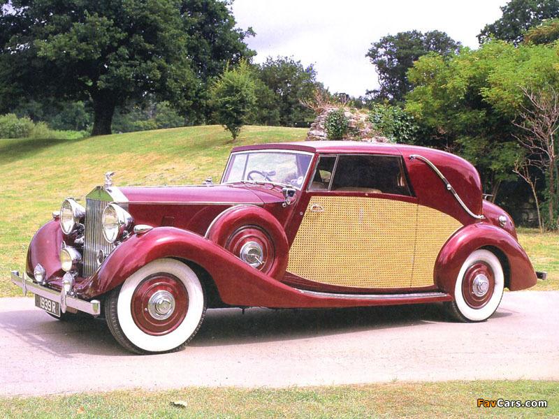 Rolls-Royce Wraith Sedanca de Ville by Nutting 1939 wallpapers (800 x 600)