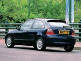 Photos of Rover 25 3-door 1999–2004