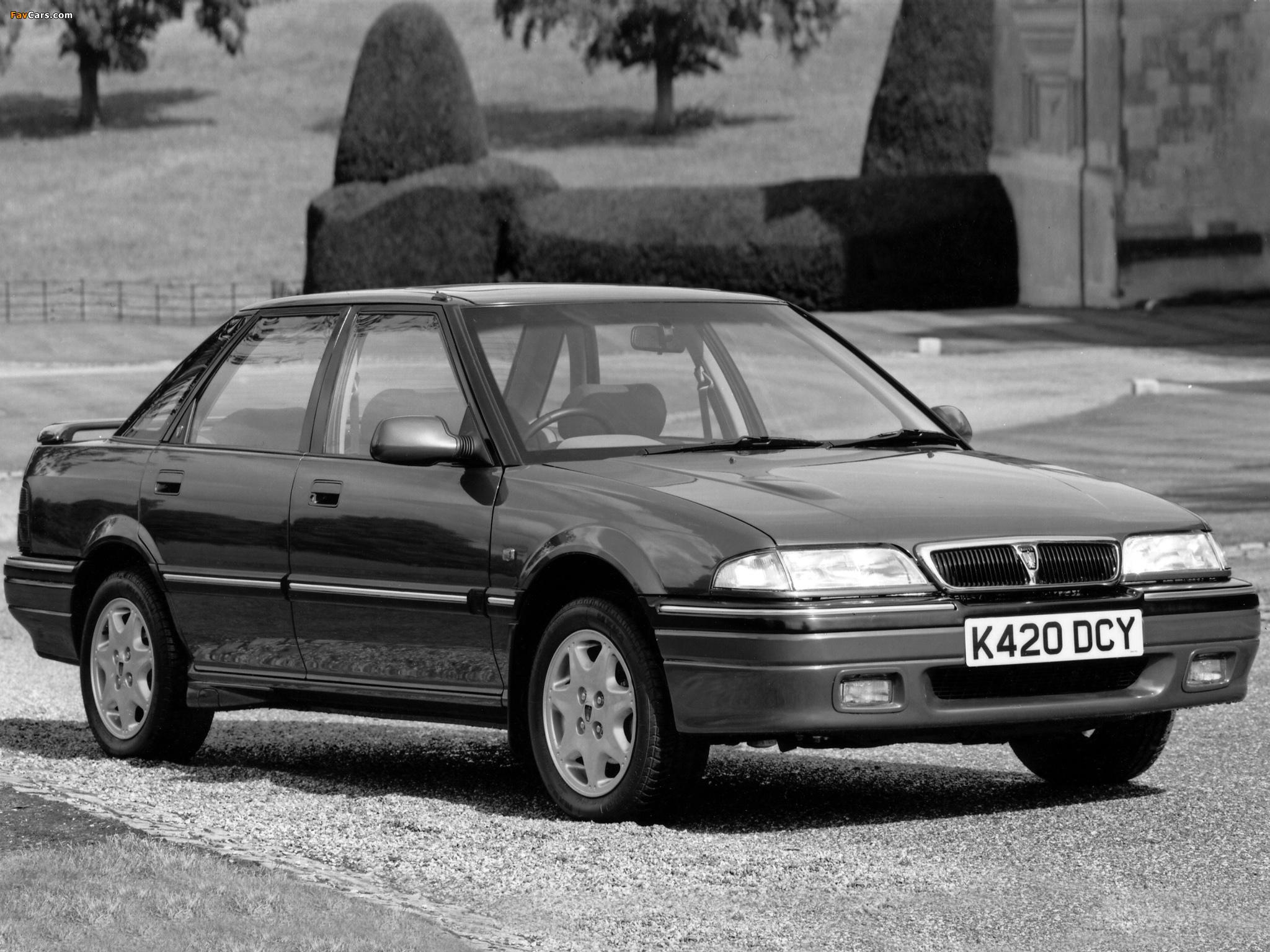 Rover 420GSi Sport Turbo (R8) 1990–95 photos (2048 x 1536)