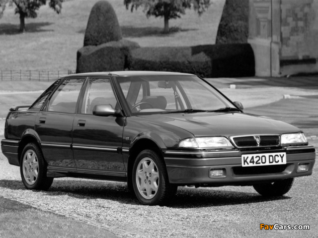 Rover 420GSi Sport Turbo (R8) 1990–95 photos (640 x 480)