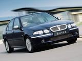 Rover 45 Sedan 1999–2004 photos