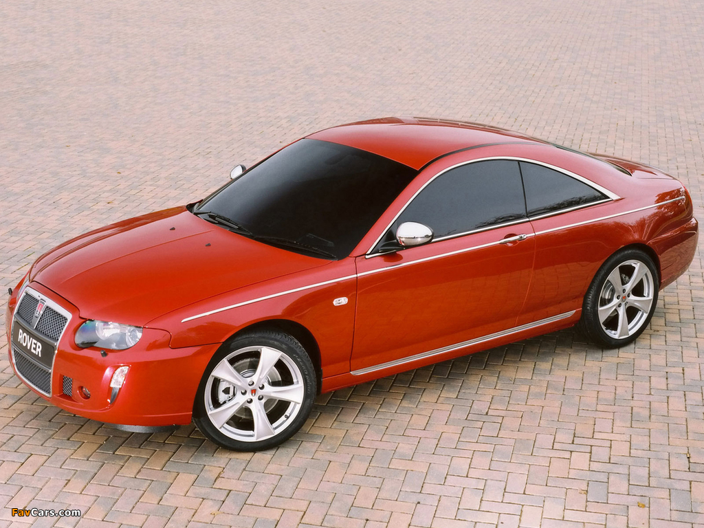 Images of Rover 75 Coupe Concept 2004 (1024 x 768)