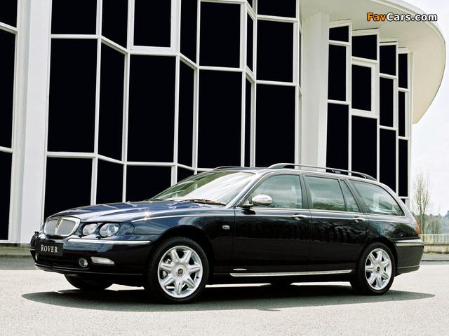 Photos of Rover 75 Tourer 2001–03 (640 x 480)