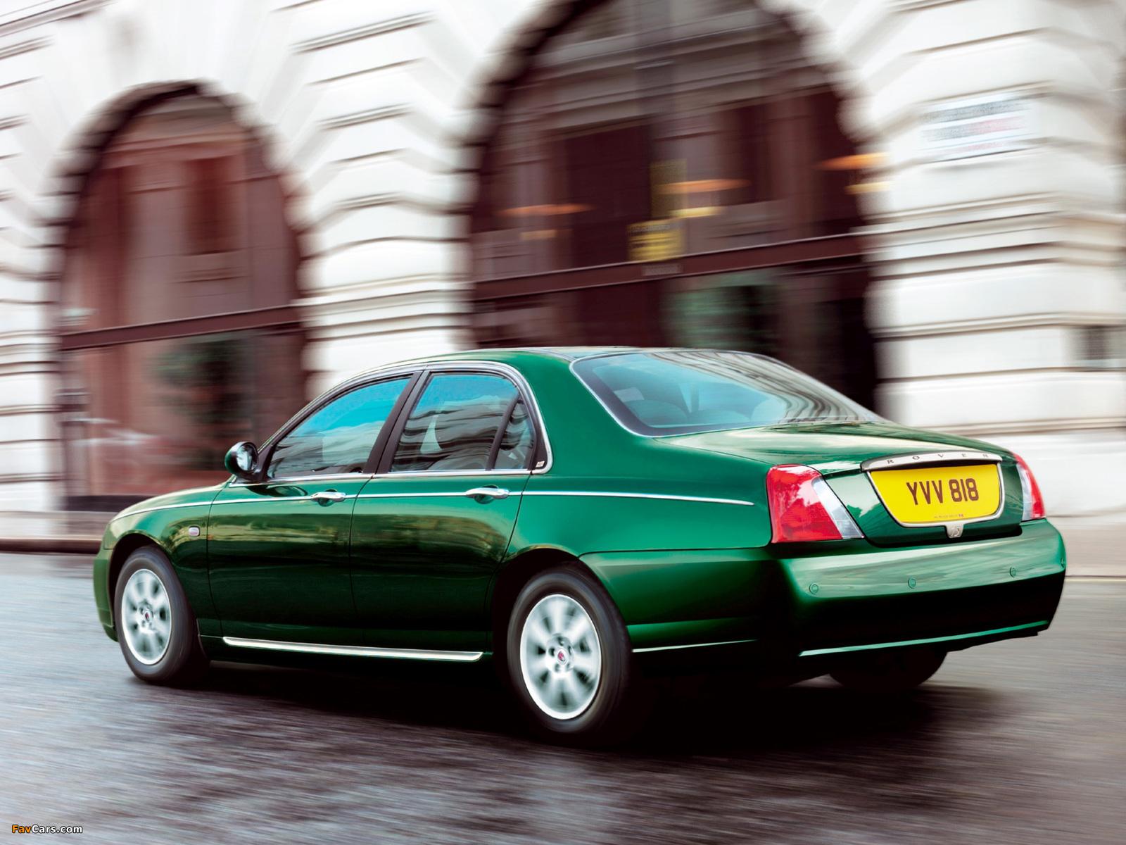 Photos of Rover 75 2004–05 (1600 x 1200)