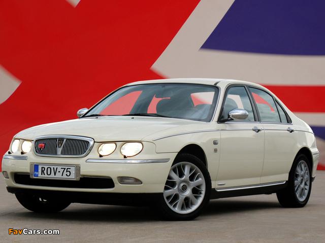 Pictures of Rover 75 EU-spec 1998–2003 (640 x 480)