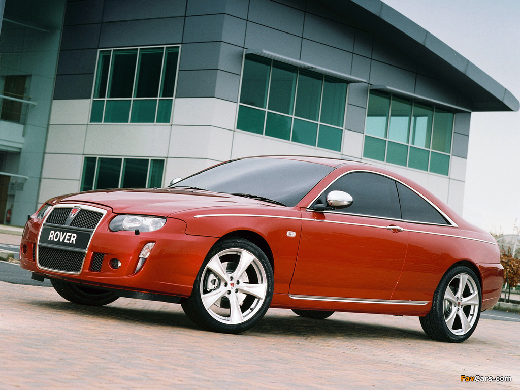 Pictures of Rover 75 Coupe Concept 2004 (1024 x 768)