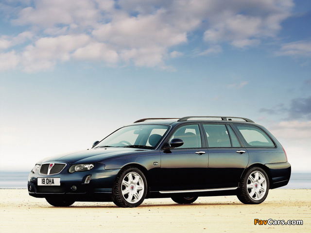 Pictures of Rover 75 Tourer 2004–05 (640 x 480)