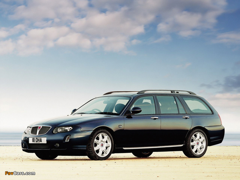 Pictures of Rover 75 Tourer 2004–05 (800 x 600)