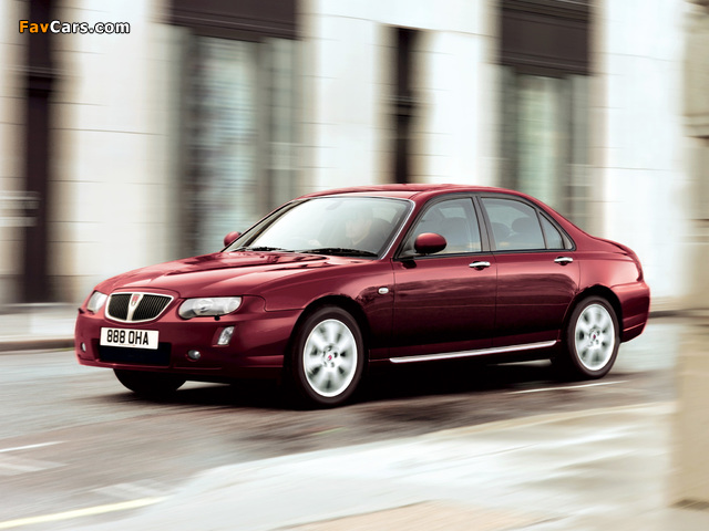 Pictures of Rover 75 2004–05 (640 x 480)