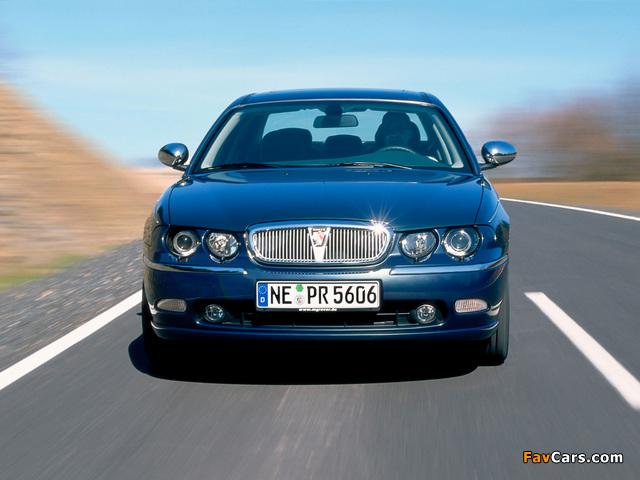 Rover 75 EU-spec 1998–2003 images (640 x 480)