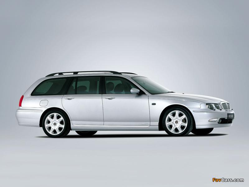 Rover 75 Tourer 2001–03 photos (800 x 600)