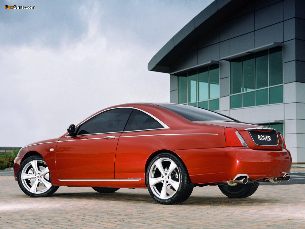 Rover 75 Coupe Concept 2004 images (1024 x 768)