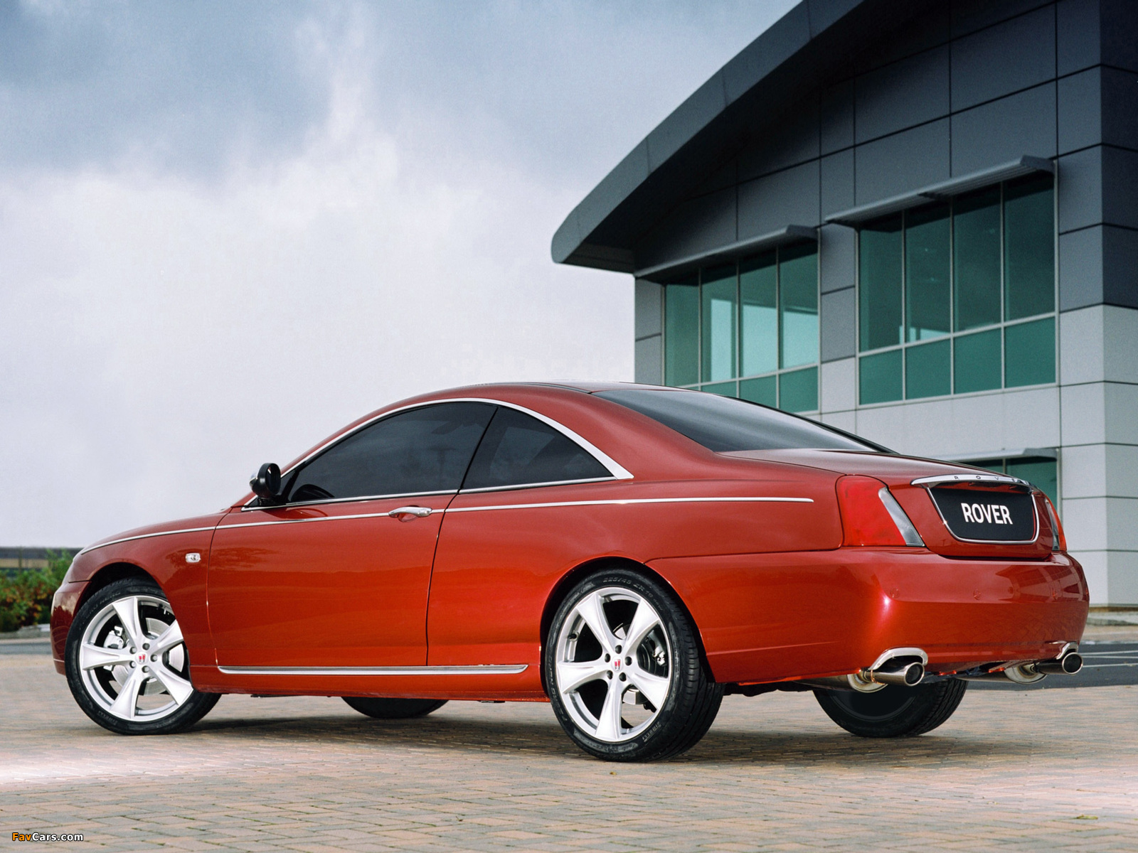 Rover 75 Coupe Concept 2004 images (1600 x 1200)