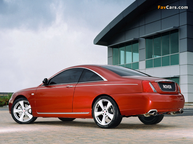 Rover 75 Coupe Concept 2004 images (640 x 480)
