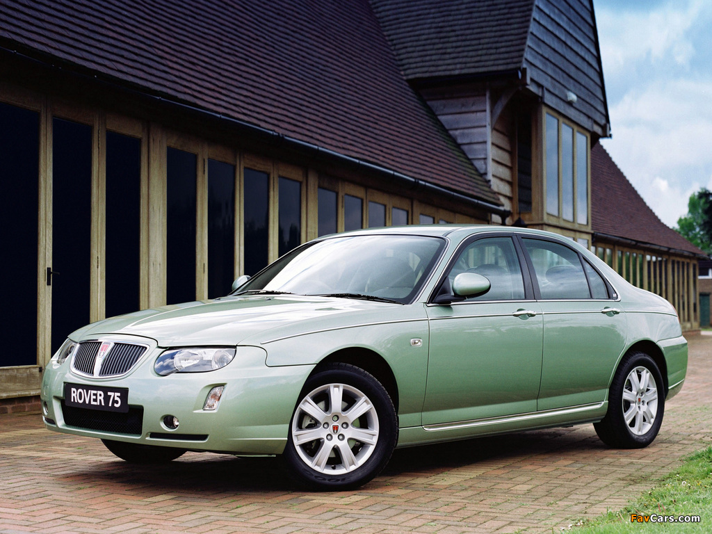 Rover 75 2004–05 pictures (1024 x 768)