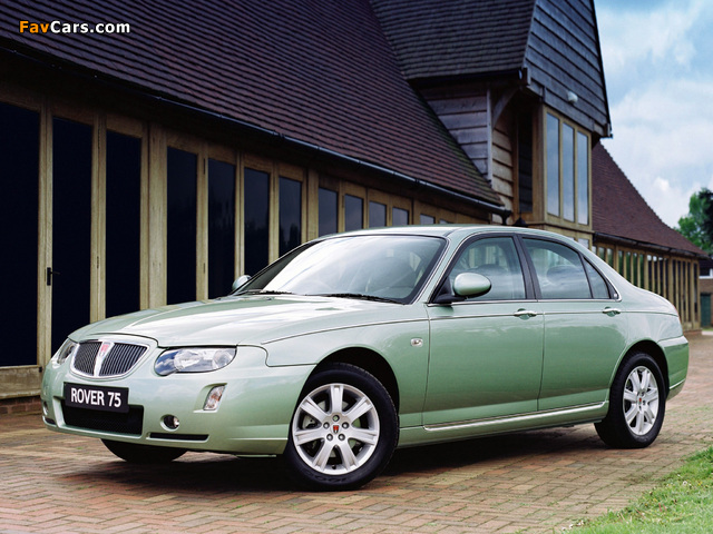 Rover 75 2004–05 pictures (640 x 480)