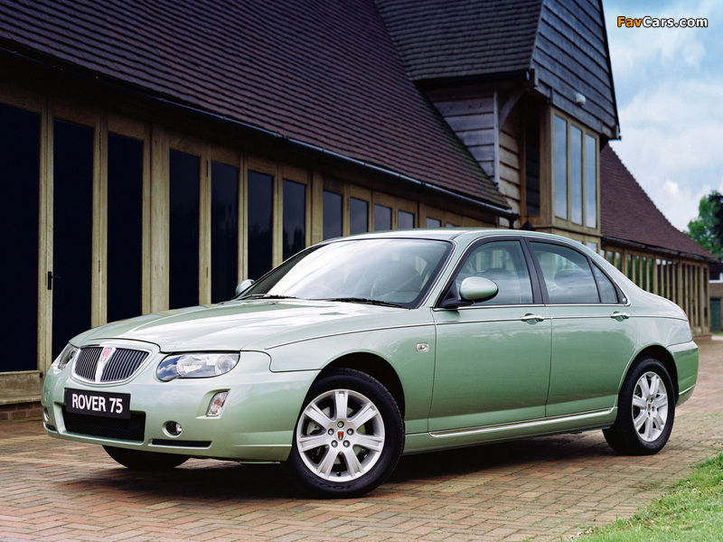 Rover 75 2004–05 pictures (800 x 600)