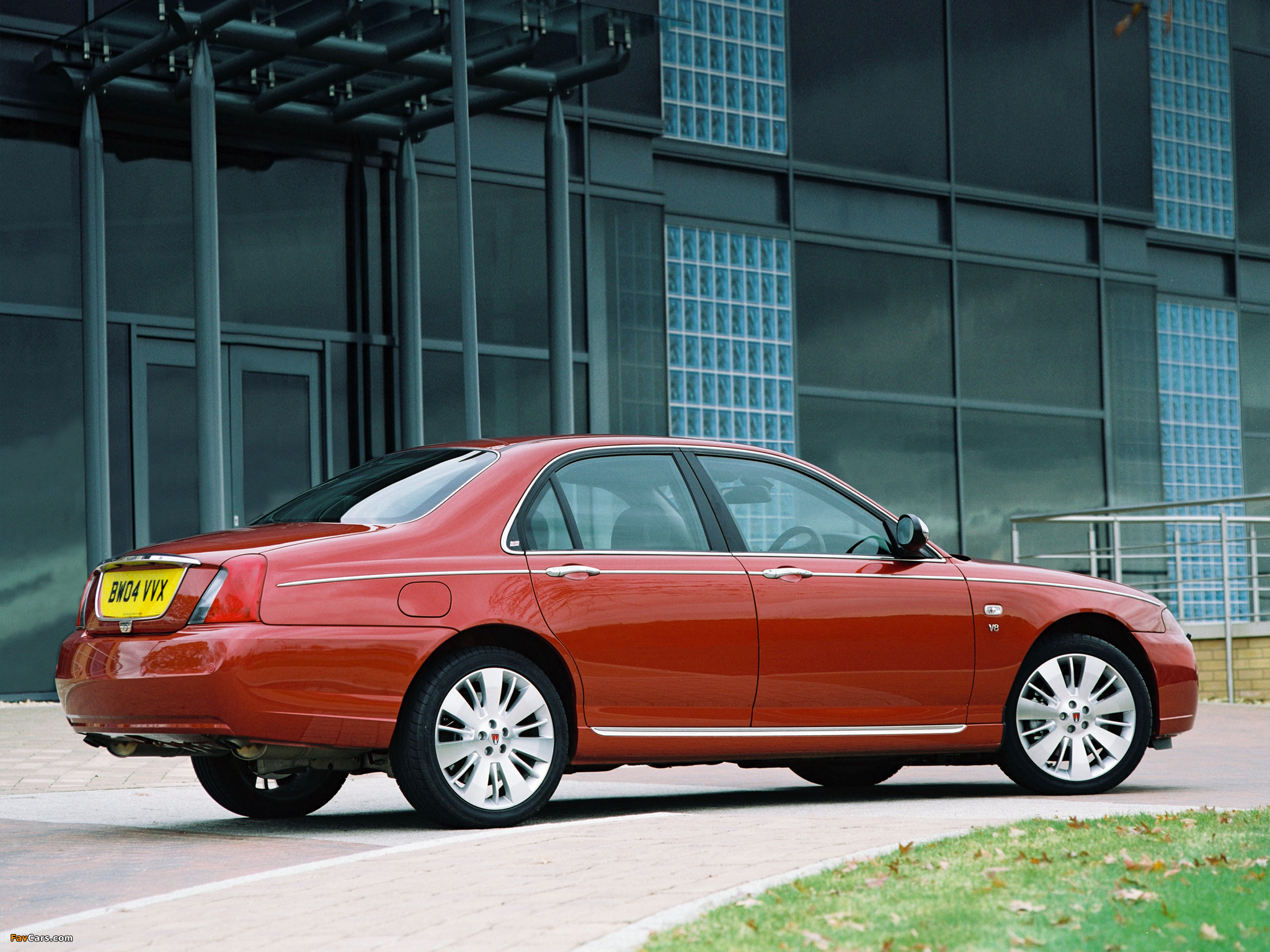 Rover 75 V8 2004–05 wallpapers (2048 x 1536)