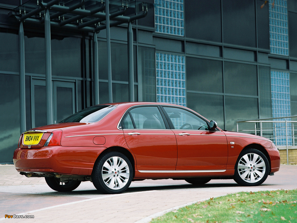 Rover 75 V8 2004–05 wallpapers (1024 x 768)