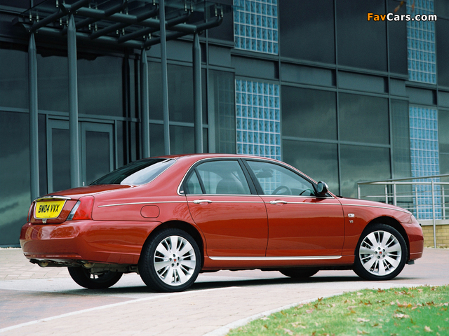 Rover 75 V8 2004–05 wallpapers (640 x 480)
