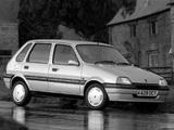 Pictures of Rover Metro 5-door 1990–94