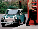 Rover Mini Cooper Final Edition (ADO20) 2000 images