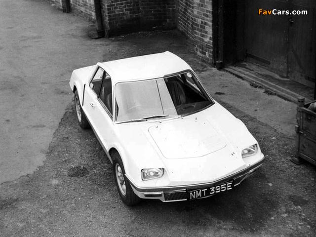 Rover P6BS V8 Prototype 1967 photos (640 x 480)