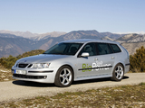 Images of Saab 9-3 BioPower SportCombi 2006–07