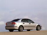 Photos of Saab 9-3 Aero Sport Sedan 2002–07