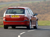 Photos of Saab 9-3 1.9TiD SportCombi UK-spec 2005–07