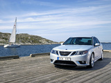 Photos of Saab 9-3 Aero Sport Sedan 2008–11