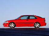 Pictures of Saab 9-3 Aero Coupe 1999–2002