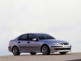 Pictures of Saab 9-3 Aero Sport Sedan 2002–07