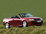 Pictures of Saab 9-3 Convertible Aero Performance by Hirsch 2003–07