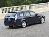 Pictures of Saab 9-3 SportCombi US-spec 2008–11