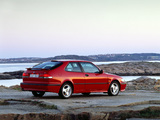 Saab 9-3 Aero Coupe 1999–2002 pictures