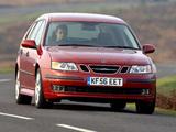 Saab 9-3 1.9TiD SportCombi UK-spec 2005–07 pictures